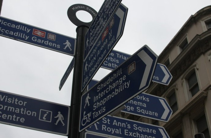 Manchester Sign Posts